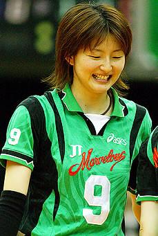 宝来麻紀子 - 元バレーボール選手