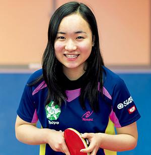 伊藤美誠 - 卓球選手