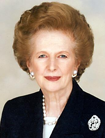 マーガレット・サッチャー - 政治家、元首相
